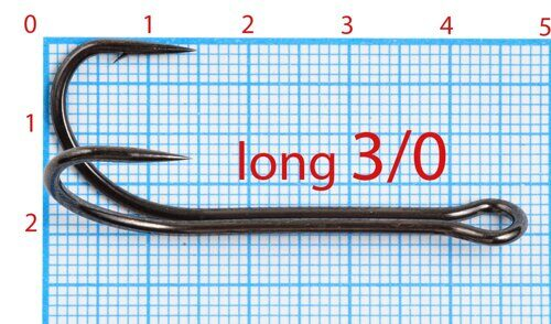 Double Hook 3/0 Long (10 шт)