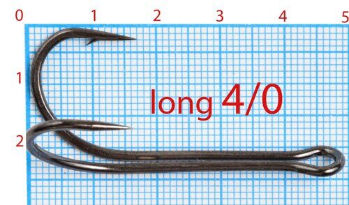 Double Hook 4/0 Long (50 шт)